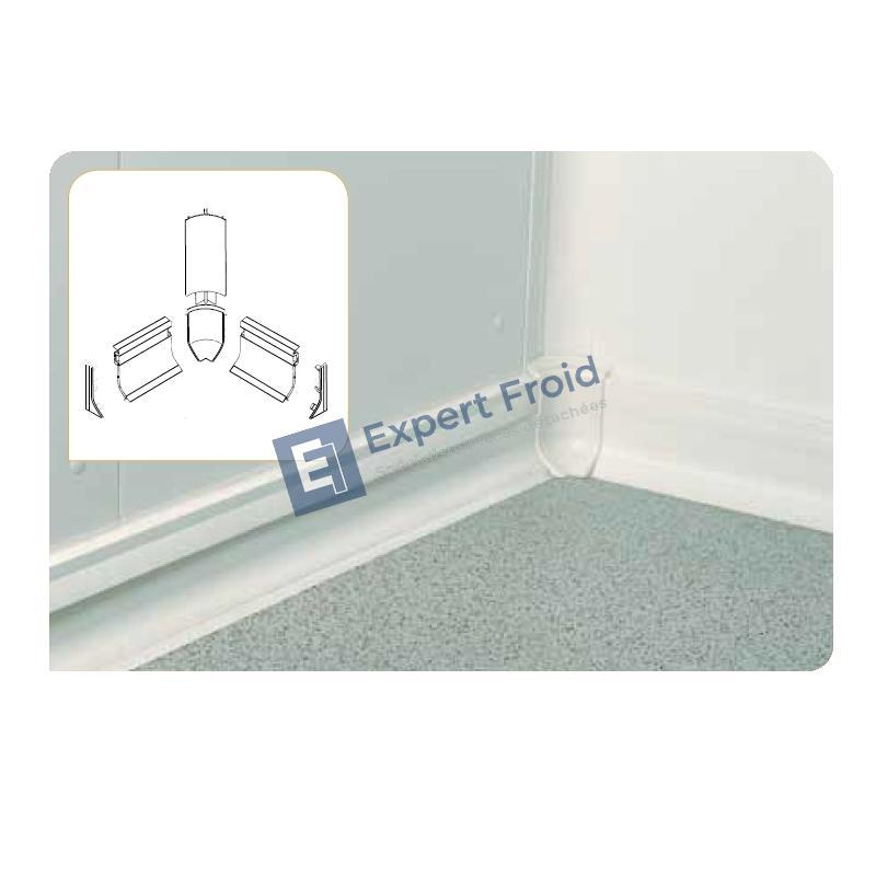expert froid embout gauche pour plinthe pvc. Black Bedroom Furniture Sets. Home Design Ideas